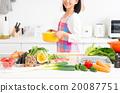 廚房 食品 原料 20087751