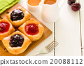 Fruit Pastry for Tea Background 20088112