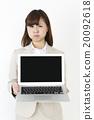 女性 事業女性 被打擾的 20092618
