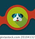 벡터, 애완동물, 강아지 20104132