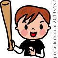 baseball, baseballs, grinning 20105452