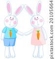 Cute Bunnies 20105664
