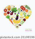 Infographic vegetable and fruit food health care  20106596