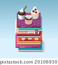 food cook books idea cupcake concept design. 20106930