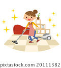 vacuum, cleaner, Housewife 20111382