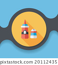 sauce flat icon with long shadow,eps10 20112435