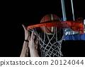 basketball, playing, dunk 20124044
