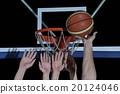 basketball, playing, dunk 20124046
