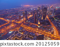dubai, city, night 20125059