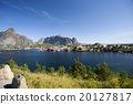 Lofoten Islands near Moskenes, Norway 20127817