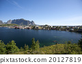 Summer view of Lofoten Islands near Moskenes 20127819