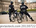 french policemen in bike 20130722
