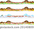 火车 电气列车 矢量图 20140809
