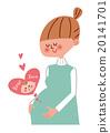 怀孕 孕妇 快乐 20141701