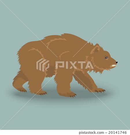 Kodiak angry bear 20141746