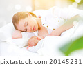 sleeping together and breastfeeding mother and newborn baby in b 20145231