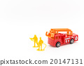 Toy fire and firefighters: Toy Fire Truck และนักผจญเพลิง 20147131