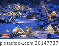【Gifu Prefecture】 Winter Shirakawago 20147737