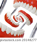 Droste Denture Model Cutout 20148277