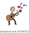 People old man guitar love song 20148353
