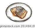 鲭鱼 味增食物 味噌 20149419