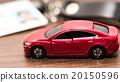 紅 轎車 車 20150596