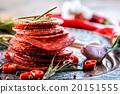 Sausage Chorizo. Spanish traditional chorizo sausa 20151555