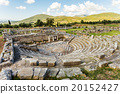 ruins of theater in Ancient Messinia, Greece 20152427