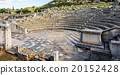 ruins of theater in Ancient Messinia, Greece 20152428