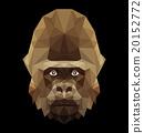 gorilla face 20152772