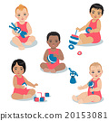 Different race toddlers. 20153081