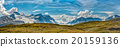 Icefield Park Glacier view panorama 20159136