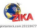 Zika virus concept 20159477