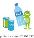 Frog plastic Bottle and Cans 20166897