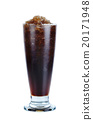 Cola with glass isolated on the white background 20171948