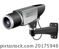 cctv, illustration, vector 20175946