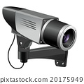 cctv, illustration, vector 20175949
