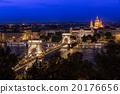 Panorama of Budapest, Hungary,  20176656