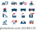 Factory and Industry Symbols 20180110