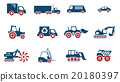 Transportation simply icons 20180397