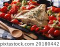 鱼 烤 沙拉 20180442