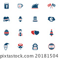 Holidays simply icons 20181504