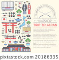 Country Japan travel vacation guide of goods 20186335