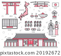 Country Japan trip of goods, places and features 20192672