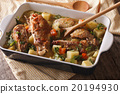Homemade Chicken braised with vegetables 20194930
