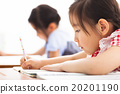 happy children study in the classroom 20201190