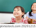 happy little girls in the classroom 20201215