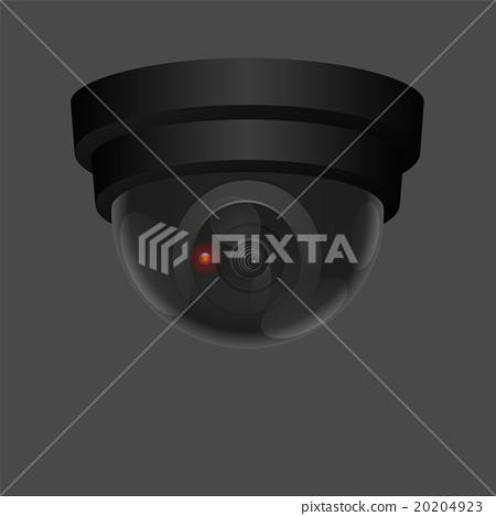 Observation Camera Ceiling Black 20204923