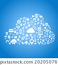 Cloud computing technology concept 20205076