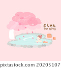 Beauty woman with hot Spring 20205107